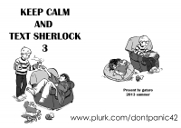 Keep Calm and Text Sherlock 3