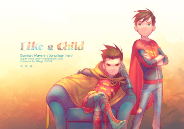 【DC/SuperSons新刊】Like a Child【通販中】