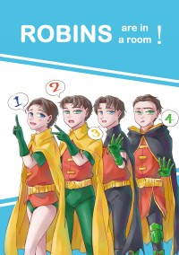 Robins are in a room!