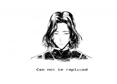 HarryPotter石內卜插畫本『Can not be replaced』