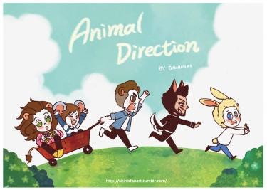 Animal Direction  (一世代/One Direction 動物插畫本)