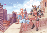 Sketchbook:Spideypool