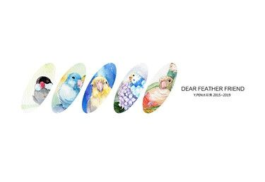 dear feather friend Y.PEN水彩集 2015~2019