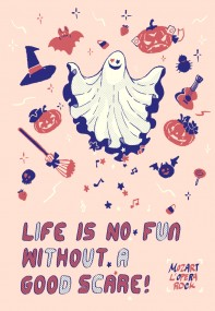 Life is no fun without a good scare法札萬聖節本