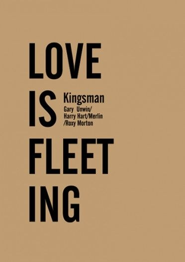 LOVE IS  FLEET ING