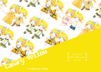 【VOCALOID】Canary Yellow -鏡音中心漫畫本