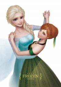 FROZEN Fanart Book 2015