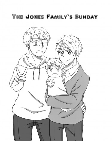 The Jones family's Sunday
