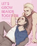Let's Grow Beards Together 盾冬漫畫插畫本