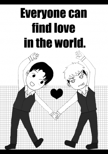 【進擊 馬可約翰】Everyone can find love in the world.