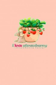 i love strawberry - strawberry fairy