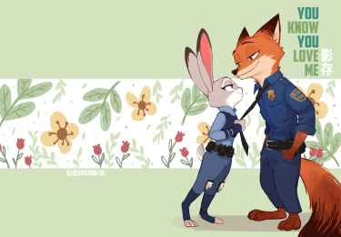 [Zootopia]Nick x Judy《You Know You Love Me》