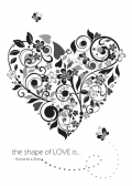 【青黃】 the shape of LOVE is...