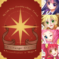 【MLP 彩虹小馬】Exchange Diary ✦Personification is Magic✦