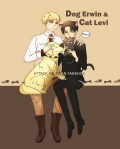 團兵《Dog Erwin & Cat Levi》