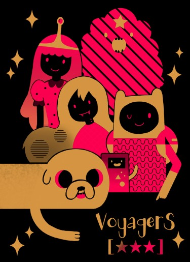 Adventure Time Riso插圖本 《VoyagerS ★★★》