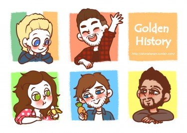 Golden History (一世代/One Direction 插畫本)