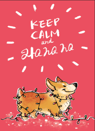 Keep calm and HOHOHO