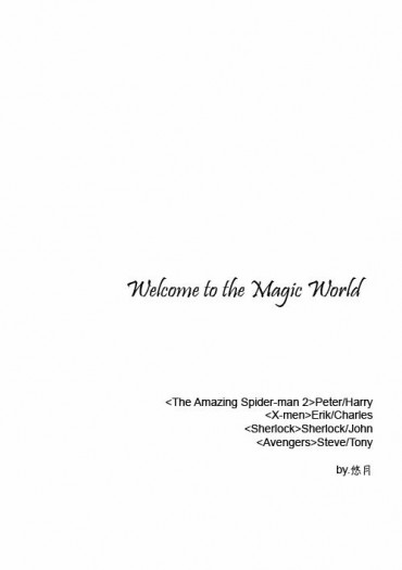 <Welcome to the Magic World>