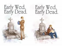 米英|Early Wed, Early Dead.