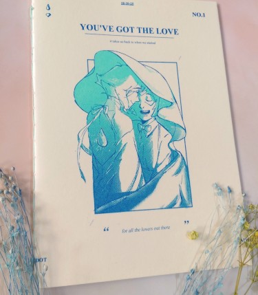 《You've got the love》lapidot手工插圖本