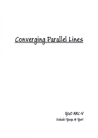 Converging Parallel Lines