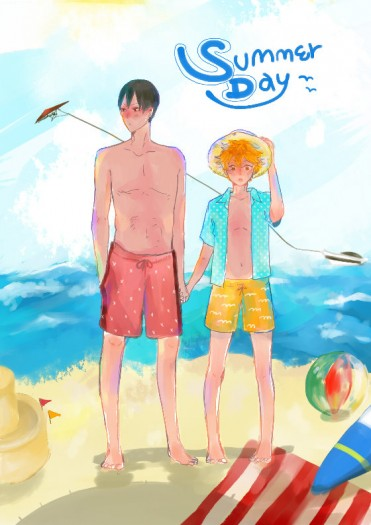 【排球】SummerDay(烏野+影日)