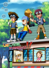 DIGIMON家庭本《WE ARE FAMILY!!》
