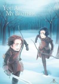 Game of Thrones同人本《You are My Brother.》