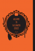 《 WELCOME TO HALLOWEEN STREET》原創四格漫畫本