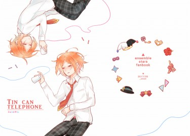 あんスタ2wink中心本《TIN CAN TELEPHONE》