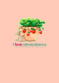 i love strawberry - strawberry fairy -