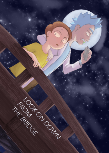 Rick and Morty-《Look on Down From the Bridge》