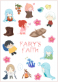 Fairy's Faith透明貼紙