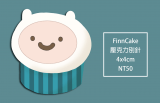 Adventure Time FinnCake壓克力別針