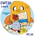 [AT]Adventure time 5.8徽章