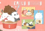 We Bare Bears 明信片組 【Bearly Yummy】