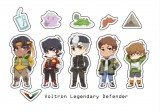 Voltron Legendary Defender-貼紙