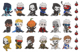【Overwatch】Reaper76〈Skin Couple貼紙〉