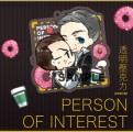 POI Person of Interest RF透明壓克力吊飾
