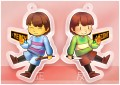 【UNDERTALE】Frisk&Chara壓克力吊飾