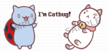 【Nice to meet you!】Puppycatbug 系列滿版壓克力別針